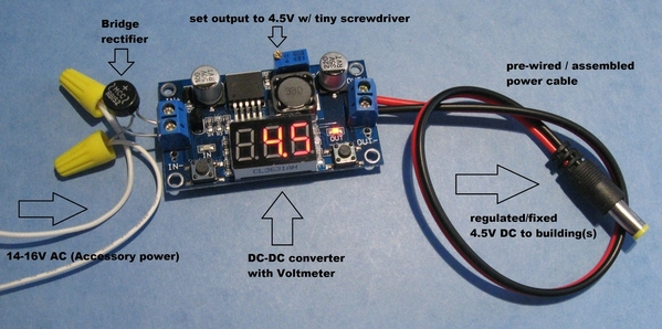 ac dc with led voltmeter no soldering