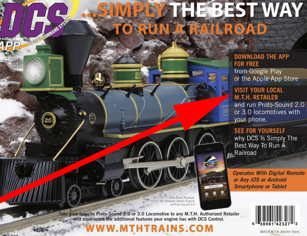 MTH Catolog back cover