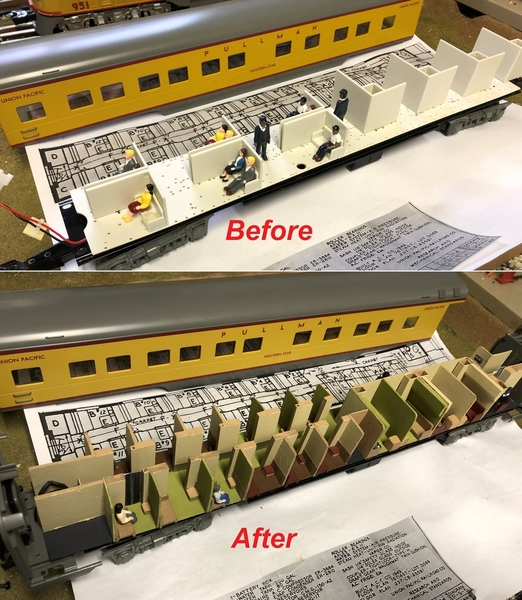 Before and after Western Star 2