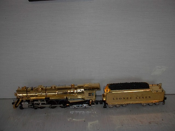 Lionel Mod 6-28062 100th Anni Gold Hudson No. 1900