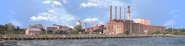 Power Plant Dockside Cleveland Right