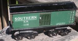 1112 Southern 8-wheel boxcar