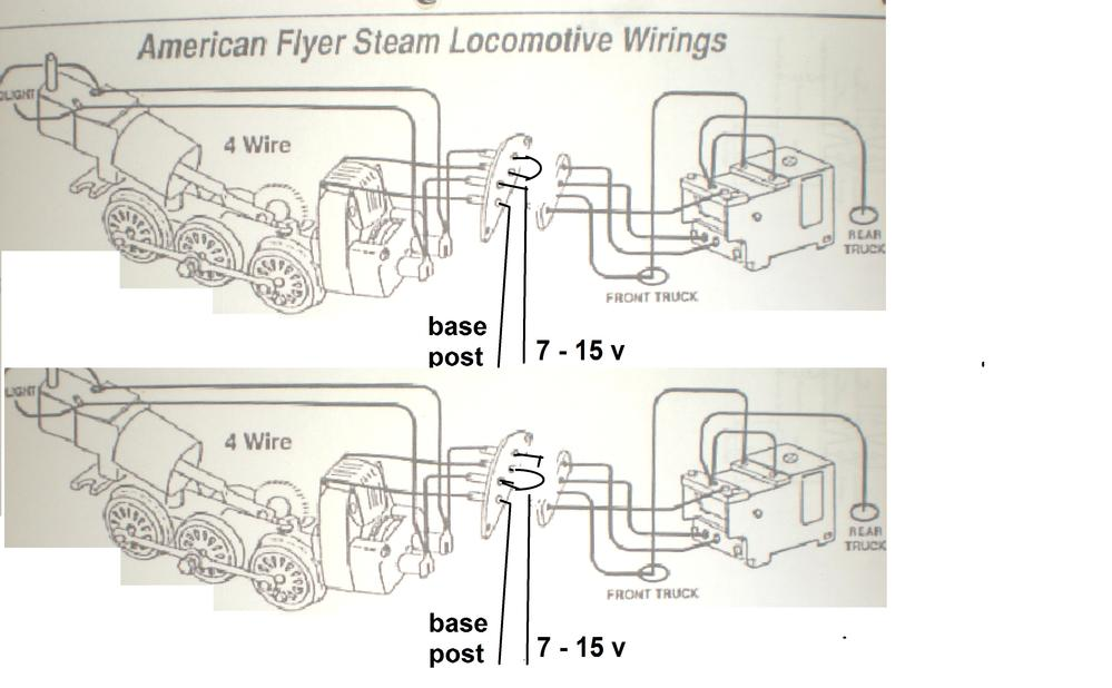 AF_loco4WireFR American Flyer Wiring Diagrams on american flyer parts diagrams, american flyer track plans, american flyer s gauge track, american flyer reverse unit, american flyer dealer display, american flyer smoke unit repair, american repair service flyer, american flyer knuckle couplers, dodge truck electrical diagrams, pinout diagrams, american flyer locomotive diagram, american auto wire diagrams, american flyer s gauge layouts, american flyer trains, american flyer logo, cable reeving diagrams, american flyer accessories,