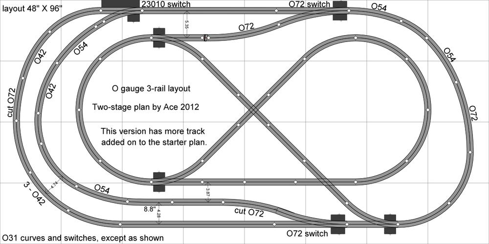 N Scale Wiring Diagrams together with True Wiring Schematic also 3 Phase Induction Motor Wiring Diagram also Lionel Fastrack Layout Plans 4x8 furthermore Transmission Solenoid. on switch loop wiring diagram