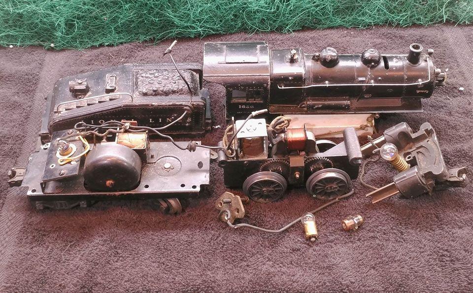 LIONEL 1656 0-4-0 Switcher engine & 3403B Tender diagram? | O Gauge  Railroading On Line ForumO Gauge Forum