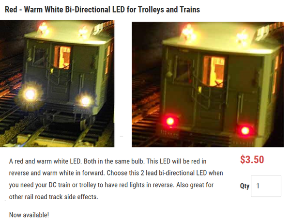 red white LED for over 3 bucks