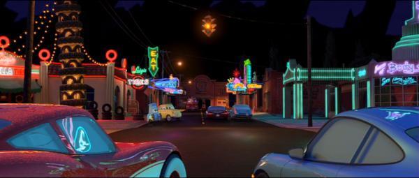 Cars Radiator Springs Night 1
