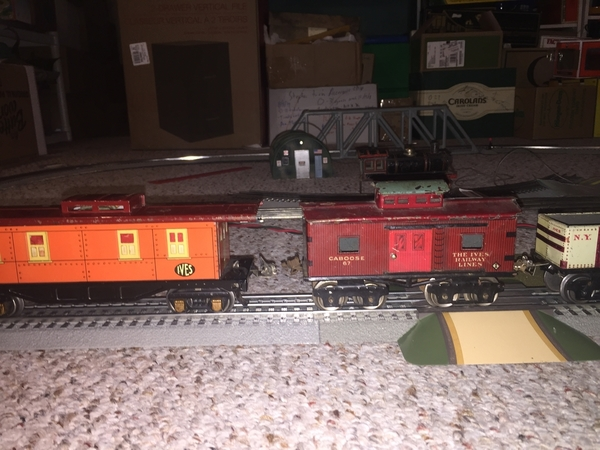 Ives 67 and 712 Caboose