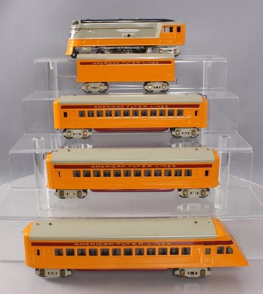 American Flyer Hiawatha streamliner set