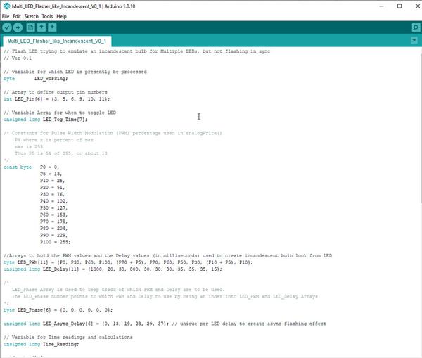 Arduino MultiLED Part 1