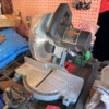 Miter Saw in Garage