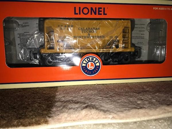 Lionel 6-52421 TTOM 2006 Calabasas Tuscon & Northwestern Ore Car-2