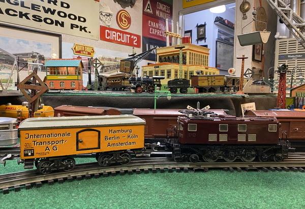 Sakai EB5873 electric loco