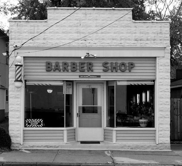 Who makes a good barber shop building kit o gauge for Building a shop house