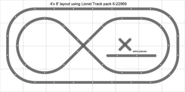 track plan ideas for lionel track pack 6