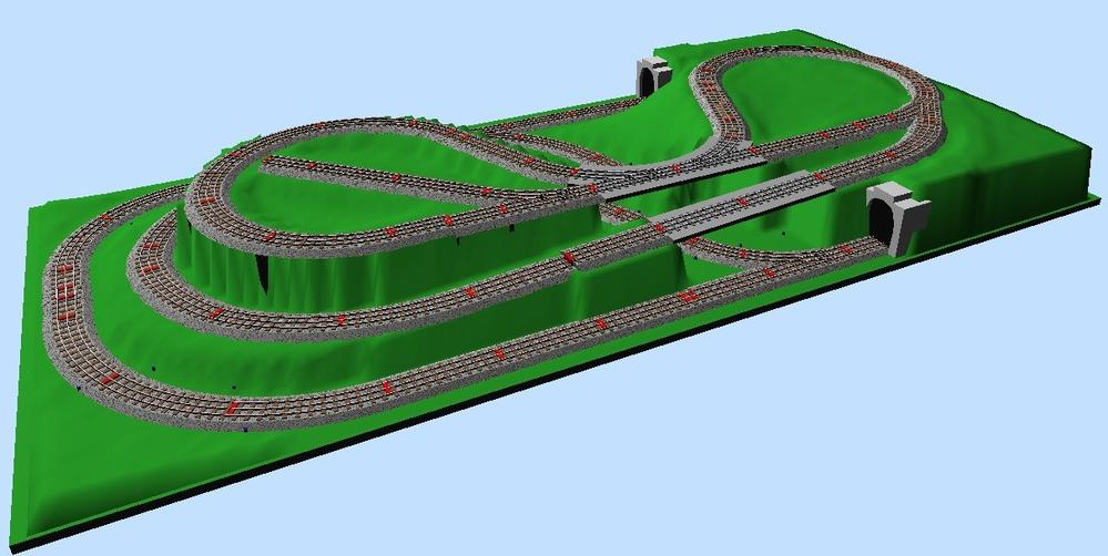 Lionel O gauge Layout Design Software - Model. - m