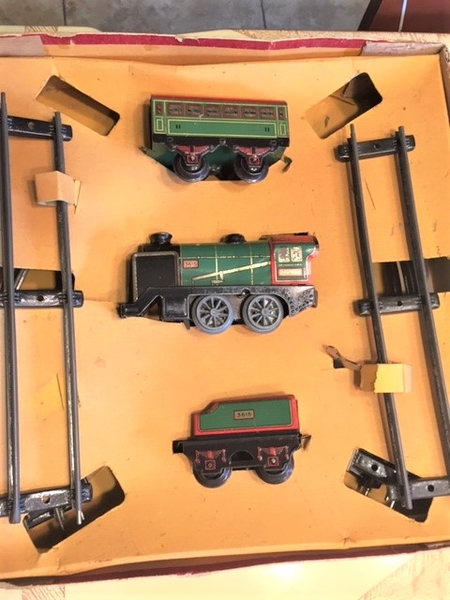 French Hornby MO set- set in box