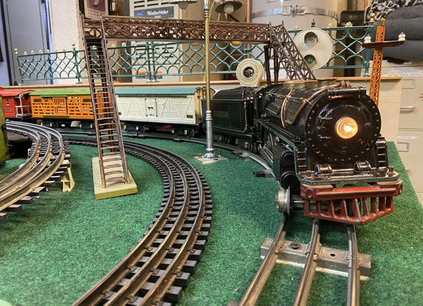 Lionel standard gauge 384-E 3