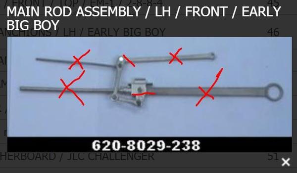 Crosshead Arm Left
