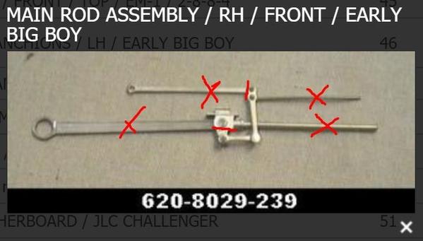 Crosshead Arm Right