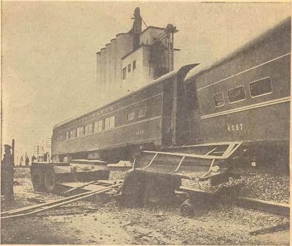 Train Wreck 1961
