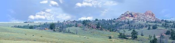 Vedauwoo National Park Wyoming Vista 1