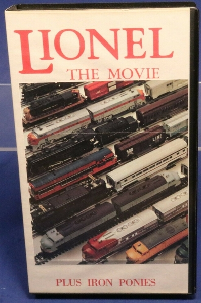 Lionel The Movie VHS
