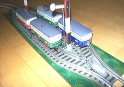 bub trolleys on siding