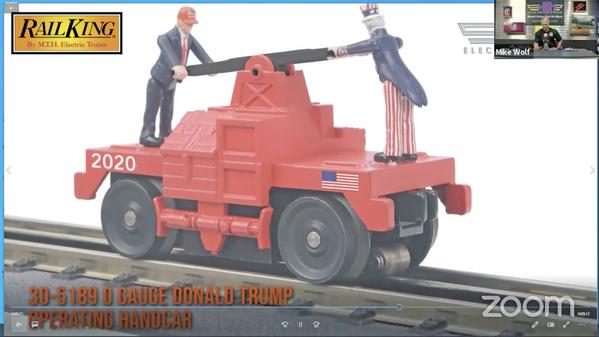 1 Trump Hand Car