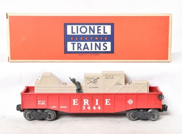 Lionel Postwar 3444 Erie Cop And Hobo Car [3)