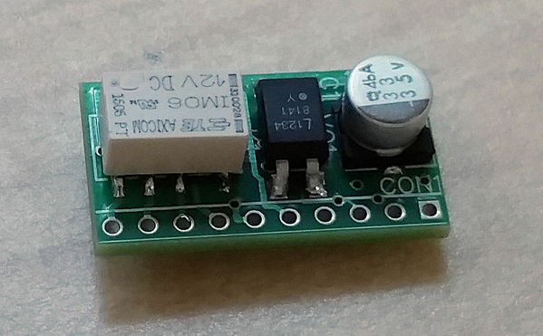 Locomotive Motion Sensor Module Assembled Board
