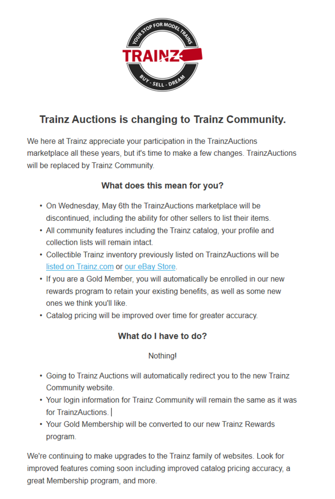Trainz Auction Site O Gauge Railroading On Line Forum