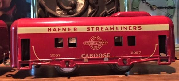 Hafner set caboose