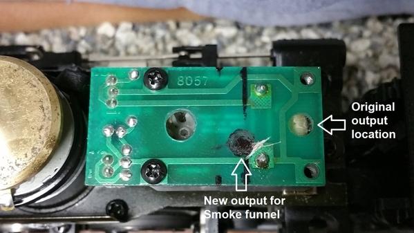 Challenger Smoke unit location change