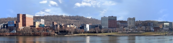 Wheeling From West With River