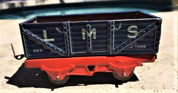 Mettoy open wagon