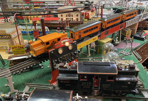 Ives 3255R and train