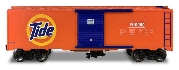 Tide Boxcar