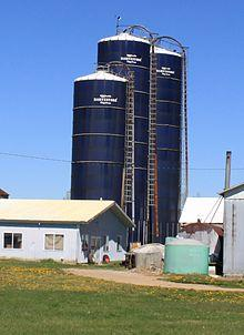 Grain Silos Made From Pvc Pipe O Gauge Railroading On