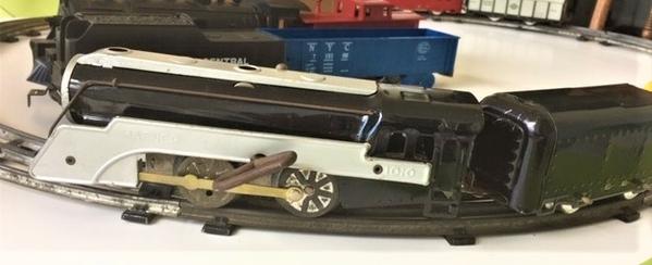 Hafner Train 2 loco & T