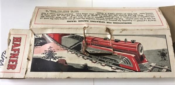 Hafner Train 4 box