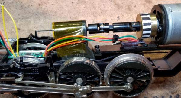 Chuff-Generator Remotely Mounted