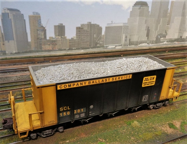 SCL LN MTH BALLAST CAR SP Collection 20 [1)
