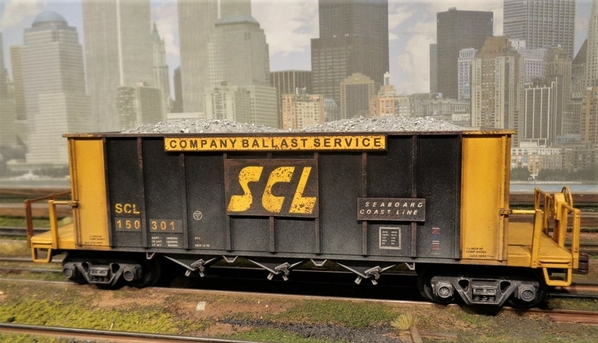SCL LN MTH BALLAST CAR SP Collection 20 [6)