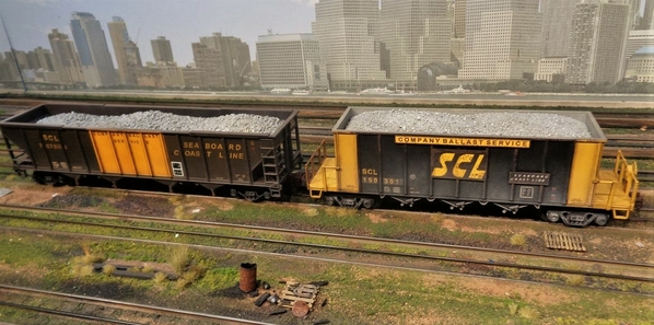 SCL LN MTH BALLAST CAR SP Collection 20 [7)