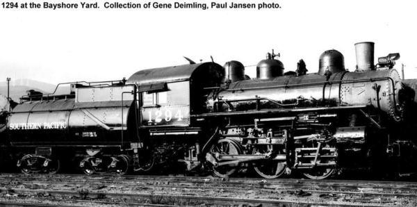 SP 1294 0-6-0 Swithcer