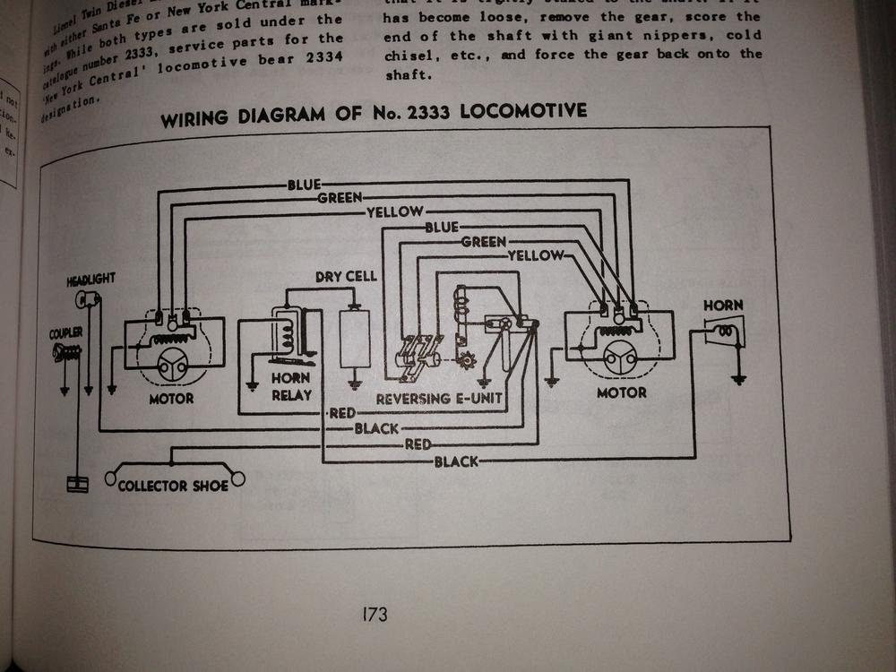 lionel train engine wiring diagrams 1962 lionel train motor wiring diagram #4