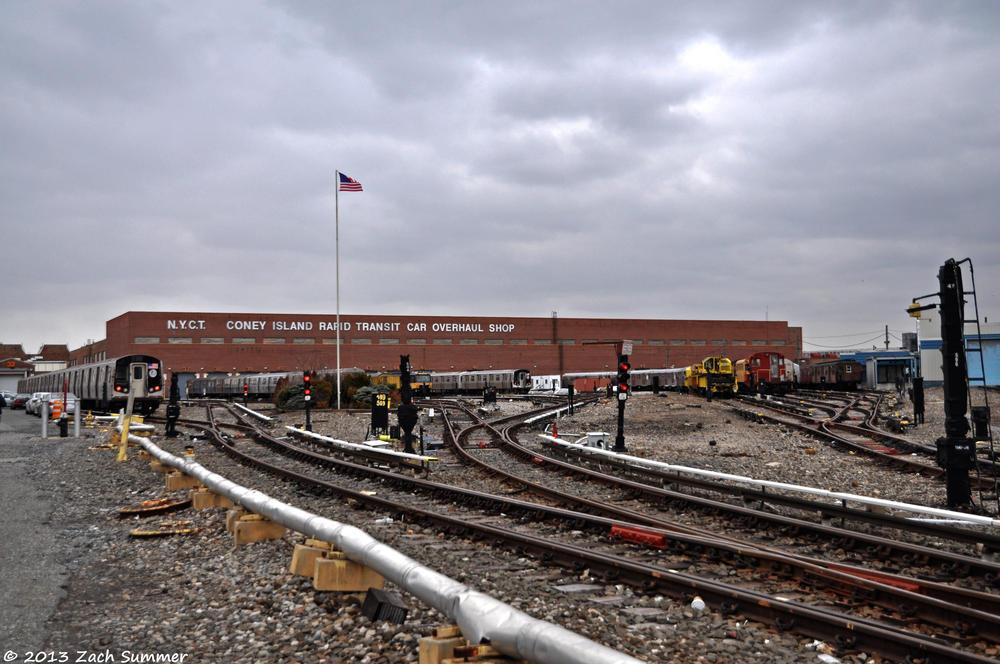 Coney Island Train Yard Tour