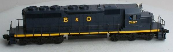 b&o sd40-2 2