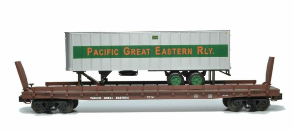 2014-Weaver-Pacific-Great-Eastern-flat-with-Pacific-Great-Eastern-trailer